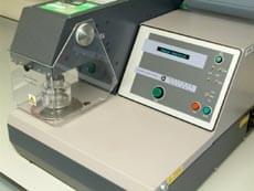 Burst testing machine at Smithers
