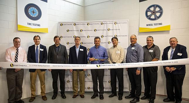 Smithers Showcases New CT+ Machine and Facility Expansion at Ravenna Lab Open House Event