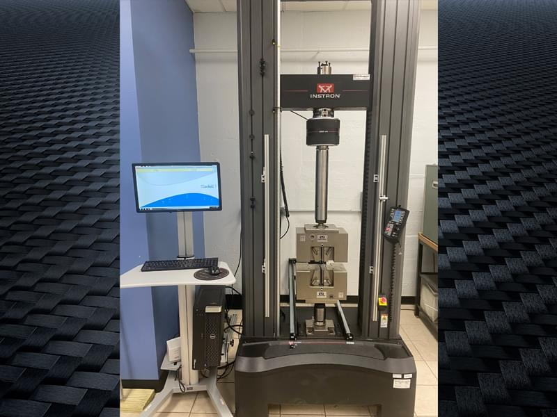 Smithers adds high load universal testing machine at materials physical testing laboratory