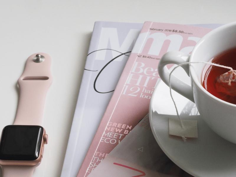Magazine sachet testing