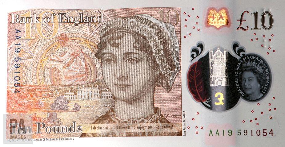 Austen £10 note – Commercialisation of new technologies drives growth in security printing