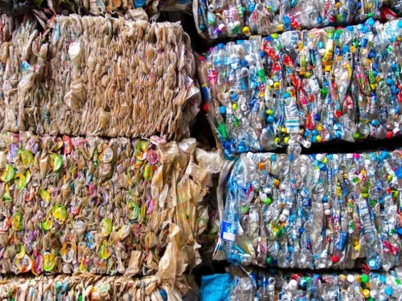 Using recycled plastic materials, assessing comparative properties