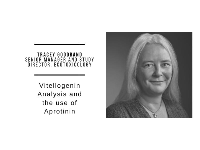 Vitellogenin Analysis and the use of Aprotinin in Ecotoxicology