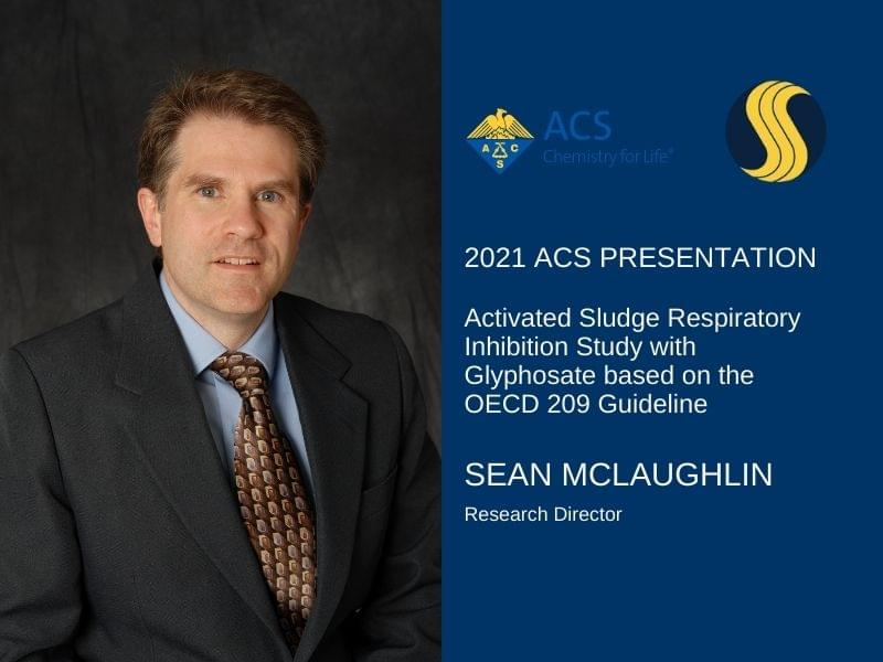 2021 ACS Presentation: Activated Sludge Respiratory Inhibition Study with Glyphosate based on the OECD 209 Guideline