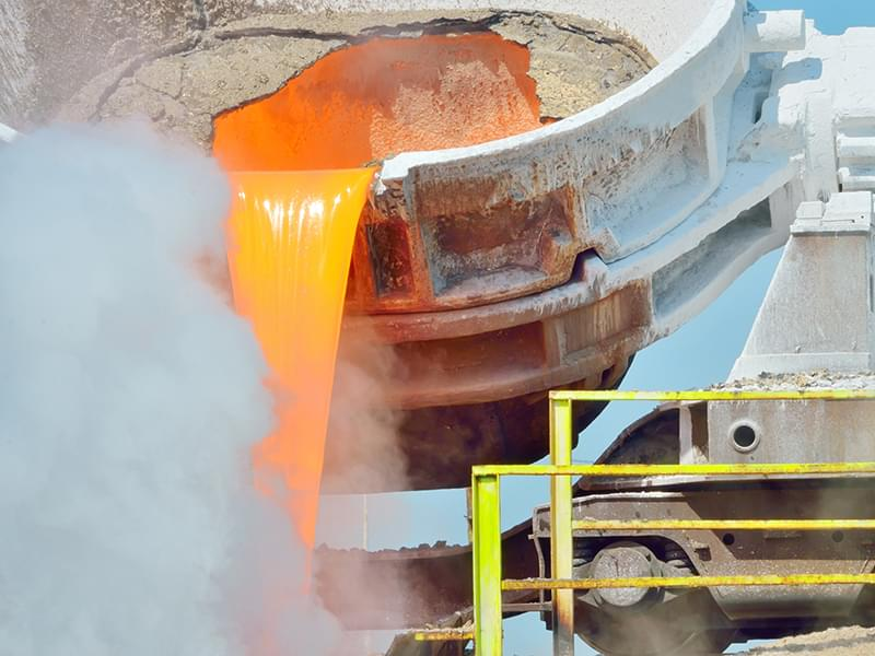 Steel and iron production in growing economies advances market for ferrous slag